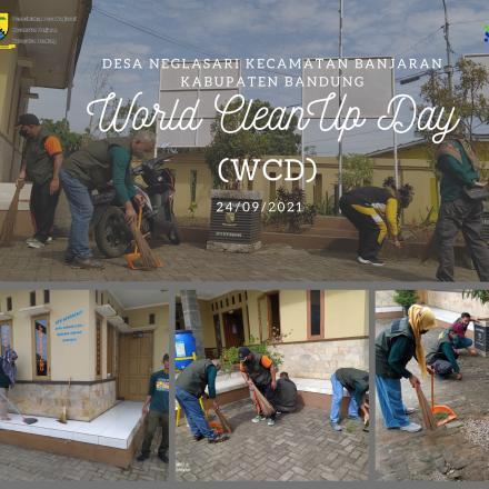 World Cleanup Day (WCD) di Desa Neglasari